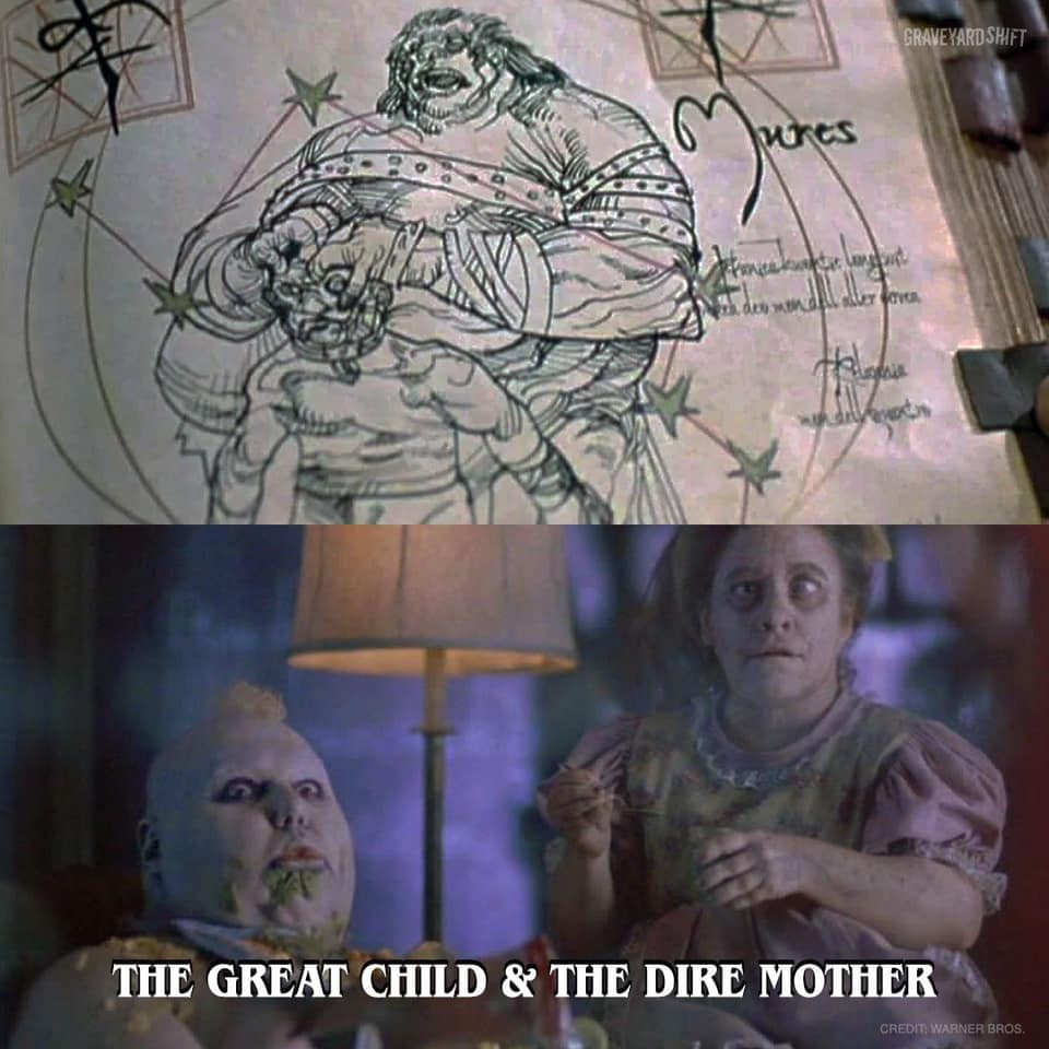 The Great Child and The Dire Mother