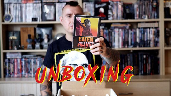 Unboxing horrorów z Severin Films
