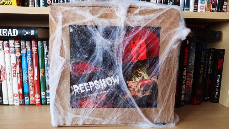 Unboxing paczki Creepshow od AMC